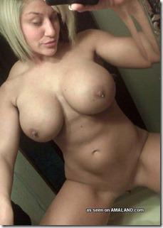 busty babe selfshot pics
